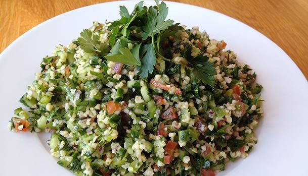 Tabouleh - Recipe for Lebanese Parsley salad